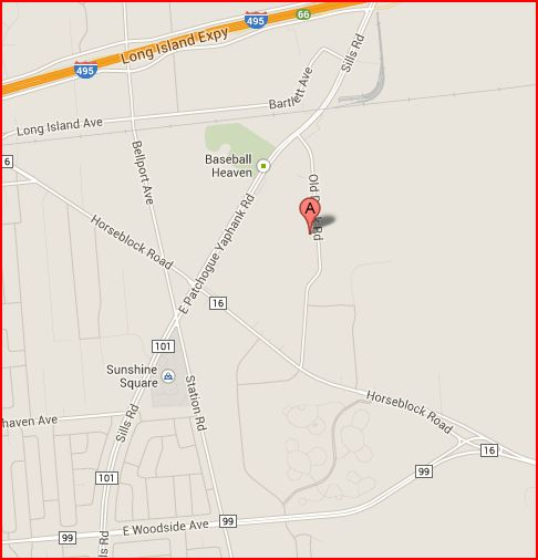 Map - 54 Old Dock Rd Suite A, Yaphank, NY 11980